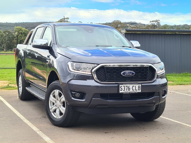Demo Ford Ranger PX MkIII 2021.25MY XLT St Marys, 2021 Ford Ranger PX MkIII 2021.25MY XLT Meteor Grey 6 Speed Sports Automatic Double Cab Pick Up