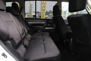 2017 Mitsubishi Pajero NX MY17 GLX White Solid 5 Speed Sports Automatic Wagon