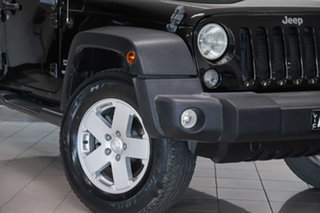 2016 Jeep Wrangler JK MY17 Unlimited Sport Black 5 Speed Automatic Softtop