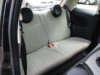 2013 Fiat 500 Lounge Black 4 Speed Automatic Hatchback