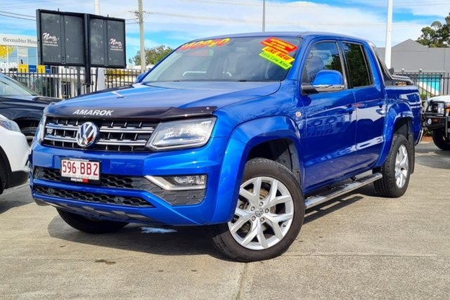 Used Volkswagen Amarok 2H MY17.5 TDI550 4MOTION Perm Ultimate Morayfield, 2017 Volkswagen Amarok 2H MY17.5 TDI550 4MOTION Perm Ultimate Blue 8 Speed Automatic Utility