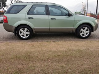 2008 Ford Territory SY TS Green 4 Speed Sports Automatic Wagon