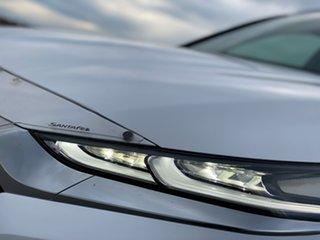 2018 Hyundai Santa Fe TM MY19 Elite White Cream Pearl/ch 8 Speed Sports Automatic Wagon