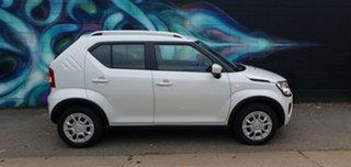 2020 Suzuki Ignis MF Series II GL Pure White Pearl 5 Speed Manual Hatchback.