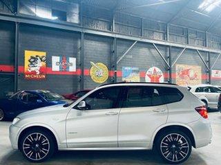 2014 BMW X3 F25 LCI MY0414 xDrive30d Steptronic Silver 8 Speed Sports Automatic Wagon
