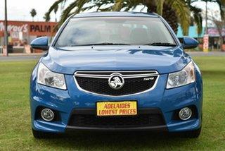 2012 Holden Cruze JH Series II MY12 SRi Blue 6 Speed Manual Sedan.