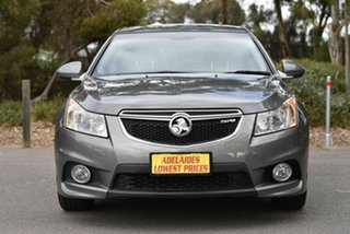 2012 Holden Cruze JH Series II MY12 SRi Grey 6 Speed Manual Hatchback.