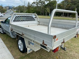 2007 Ford Falcon BF Mk II XL Super Cab Silver 4 Speed Sports Automatic Cab Chassis