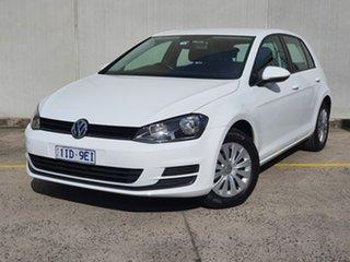 2016 Volkswagen Golf VII MY16 92TSI DSG White 7 Speed Sports Automatic Dual Clutch Hatchback.