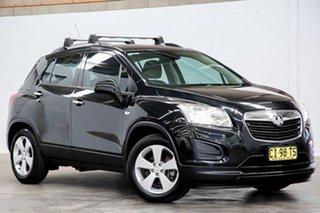 2016 Holden Trax TJ MY16 LS Black 6 Speed Automatic Wagon.