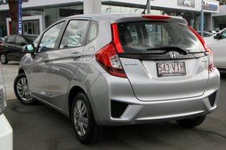2014 Honda Jazz GF MY15 VTi Silver 1 Speed Constant Variable Hatchback.