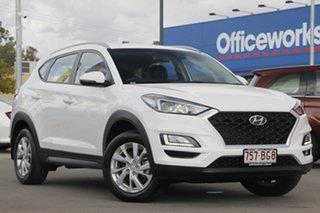 2019 Hyundai Tucson TL3 MY19 Active X 2WD White 6 Speed Automatic Wagon.