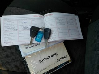 2011 Dodge Caliber PM MY10 SXT Silver 6 Speed CVT Auto Sequential Hatchback