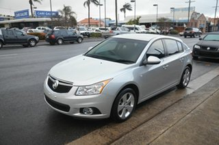 2014 Holden Cruze JH MY14 Equipe Silver 6 Speed Automatic Hatchback