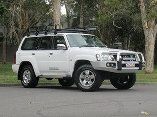 2015 Nissan Patrol Y61 GU 10 ST White 5 Speed Manual Wagon.