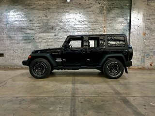 2012 Jeep Wrangler JK MY2012 Unlimited Sport Black 5 Speed Automatic Softtop