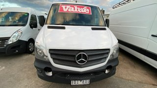 2013 Mercedes-Benz Sprinter NCV3 MY13 319CDI Low Roof MWB 7G-Tronic White 7 Speed Sports Automatic.
