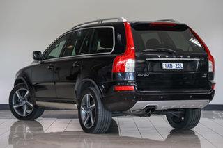 2013 Volvo XC90 P28 MY14 R-Design Geartronic Black 6 Speed Sports Automatic Wagon.