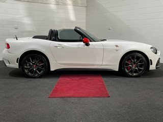 2016 Abarth 124 348 Spider Launch Edition White 6 Speed Sports Automatic Roadster