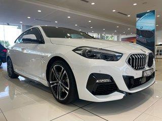 2020 BMW 2 Series F44 218i Gran Coupe DCT Steptronic M Sport Alpine White 7 Speed.