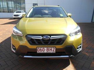 2020 Subaru XV MY21 Hybrid S AWD Plasma Yellow Continuous Variable Wagon.
