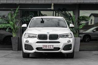 2017 BMW X4 F26 xDrive20d Coupe Steptronic White 8 Speed Automatic Wagon.
