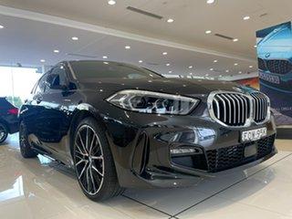 2020 BMW 1 Series F40 118i DCT Steptronic M Sport Black Sapphire 7 Speed.