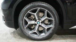 2016 BMW X1 F48 sDrive20i Steptronic Black 8 Speed Sports Automatic Wagon