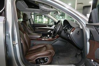 2011 Audi A8 4H L Tiptronic Quattro Silver 8 Speed Sports Automatic Sedan