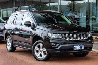 2016 Jeep Compass MK MY16 Sport CVT Auto Stick Black 6 Speed Constant Variable Wagon.