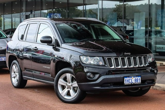 Used Jeep Compass MK MY16 Sport CVT Auto Stick Gosnells, 2016 Jeep Compass MK MY16 Sport CVT Auto Stick Black 6 Speed Constant Variable Wagon