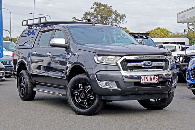 Used Ford Ranger PX MkII XLT Double Cab Ebbw Vale, 2016 Ford Ranger PX MkII XLT Double Cab Grey 6 Speed Sports Automatic Utility