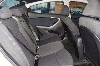 2012 Hyundai Elantra MD Elite White 6 Speed Sports Automatic Sedan