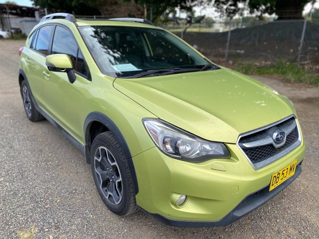 Used Subaru XV G4X MY13 2.0i-S Lineartronic AWD Wickham, 2013 Subaru XV G4X MY13 2.0i-S Lineartronic AWD Green 6 Speed Constant Variable Wagon