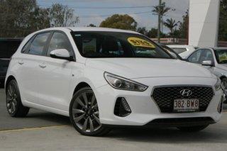 2018 Hyundai i30 PD MY18 SR White 6 Speed Manual Hatchback.