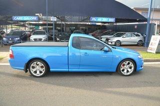 2010 Ford Falcon FG Upgrade XR6T Blue 6 Speed Auto Seq Sportshift Utility.