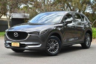 2017 Mazda CX-5 KF2W7A Maxx SKYACTIV-Drive FWD Sport Grey 6 Speed Sports Automatic Wagon.