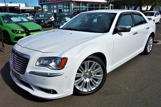 2014 Chrysler 300 LX MY14 C Luxury White 5 Speed Sports Automatic Sedan.