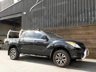 2014 Mazda BT-50 UP0YF1 XT 4x2 Hi-Rider Black 6 Speed Sports Automatic Utility.