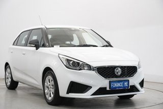 2020 MG MG3 SZP1 MY21 Core Dover White 4 Speed Automatic Hatchback