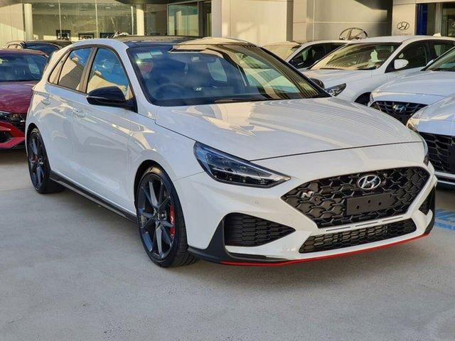 Demo Hyundai i30 Pde.v4 MY22 N D-CT Premium Oakleigh, 2021 Hyundai i30 Pde.v4 MY22 N D-CT Premium White 8 Speed Sports Automatic Dual Clutch Hatchback