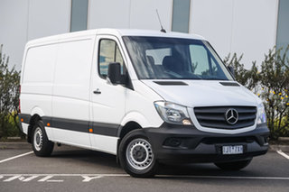 2017 Mercedes-Benz Sprinter NCV3 313CDI Low Roof SWB 7G-Tronic White 7 Speed Sports Automatic Van.