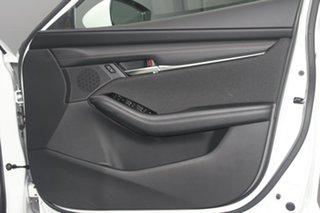 2021 Mazda 3 BP2S7A G20 SKYACTIV-Drive Evolve Snowflake White 6 Speed Sports Automatic Sedan