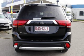 2017 Mitsubishi Outlander ZK MY17 LS 2WD Safety Pack Black 6 Speed Constant Variable Wagon
