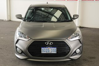 2014 Hyundai Veloster FS MY13 SR Turbo Grey 6 Speed Automatic Coupe.