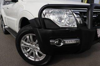 2017 Mitsubishi Pajero NX MY17 GLX White Solid 5 Speed Sports Automatic Wagon.