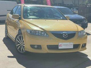 2005 Mazda 6 GG1032 Luxury Sports Yellow 5 Speed Sports Automatic Hatchback.