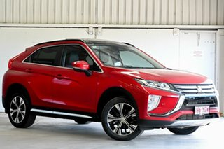 2018 Mitsubishi Eclipse Cross YA MY18 Exceed 2WD Red 8 Speed Constant Variable Wagon.