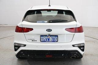 2019 Kia Cerato BD MY19 Sport Clear White 6 Speed Sports Automatic Hatchback