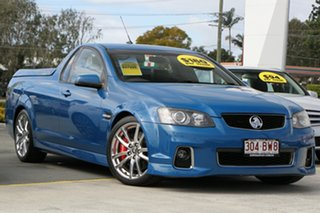 2011 Holden Ute VE II SS V Blue 6 Speed Sports Automatic Utility.